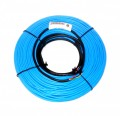 These thick heating cables are C-CSA-U certified for general purpose and wet applications indoors.  Your investment is protected by our 10 year warranty which will cover repair costs or replacement up to the original cost of the cable.  CFH-T cables can be embedded in concrete slabs or over existing subfloors within as little as 3/8